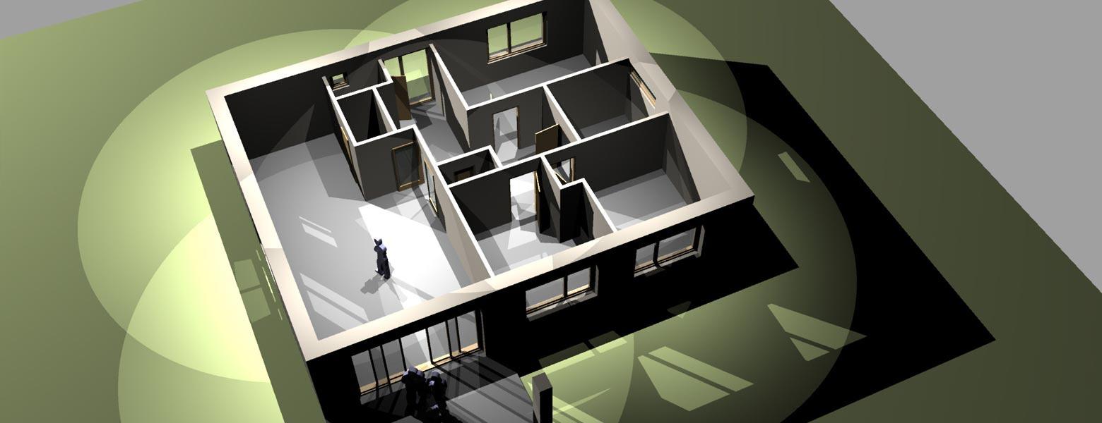 Model domu 1